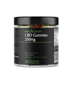 CBD Infused Buddha Bears (Gummies) – 250mg