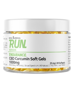 Run Series CBD Curcumin Soft Gels 1000mg