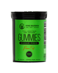 CBD Infused Sugar-Free Gummies (Passion Fruit) – 500mg